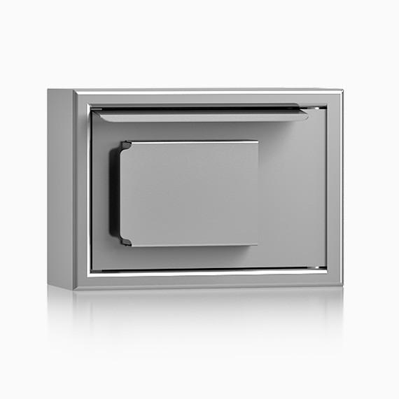 SSKK0170E10IS - Schlüssel-Stahlschrank nur Zugriffschutz, 10 Haken