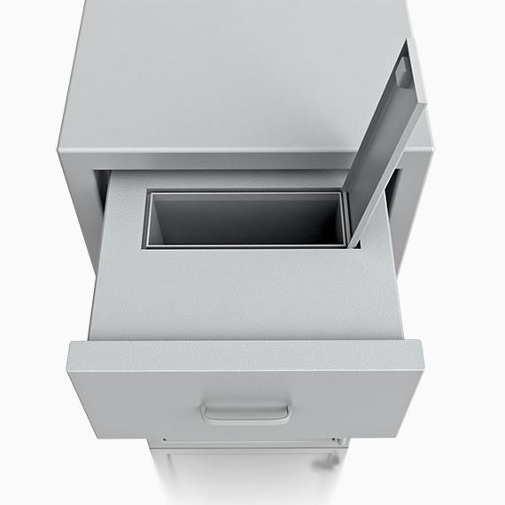 DS2D130W356IS - Deposit-Wertschutzschrank D-II, Schublade vorn ohne Schloss