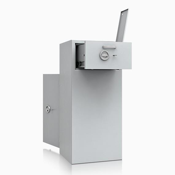 DS1D128R201IS - Deposit-Wertschutzschrank D-I, Schublade rückseitig mit Schloss