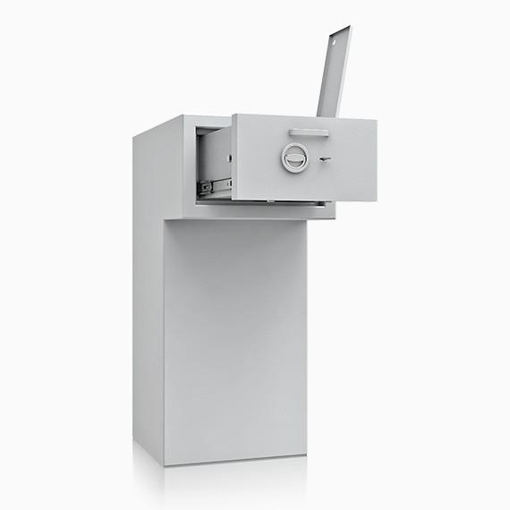 DS3D130R720IS - Deposit-Wertschutzschrank D-III, Schublade rückseitig überstehend mit Schloss