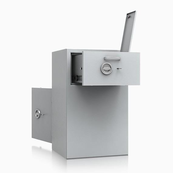 DS2D095R283IS - Deposit-Wertschutzschrank D-II, Schublade rückseitig mit Schloss