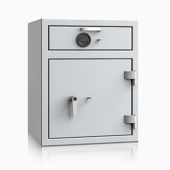 DS2D080V385IS - Deposit-Wertschutzschrank D-II, Schublade vorn mit Schloss
