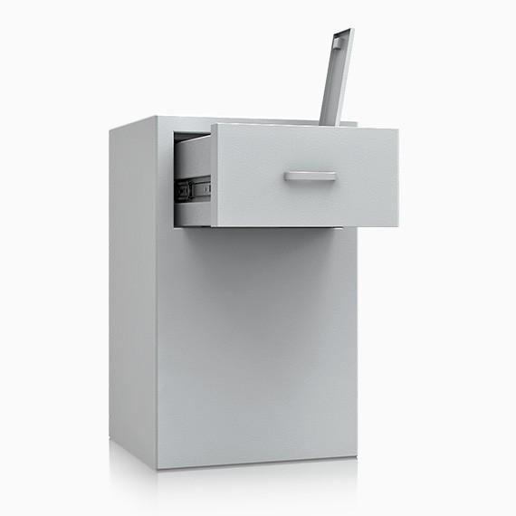 DS2D095S306IS - Deposit-Wertschutzschrank D-II, Schublade rückseitig ohne Schloss
