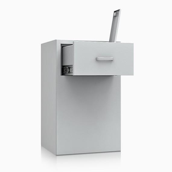DS1D093S172IS - Deposit-Wertschutzschrank D-I, Schublade rückseitig ohne Schloss